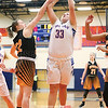 Ashley Sisson recorded 10 points and six rebounds against Pal-Mac, Wednesday, Feb. 13. File Photo