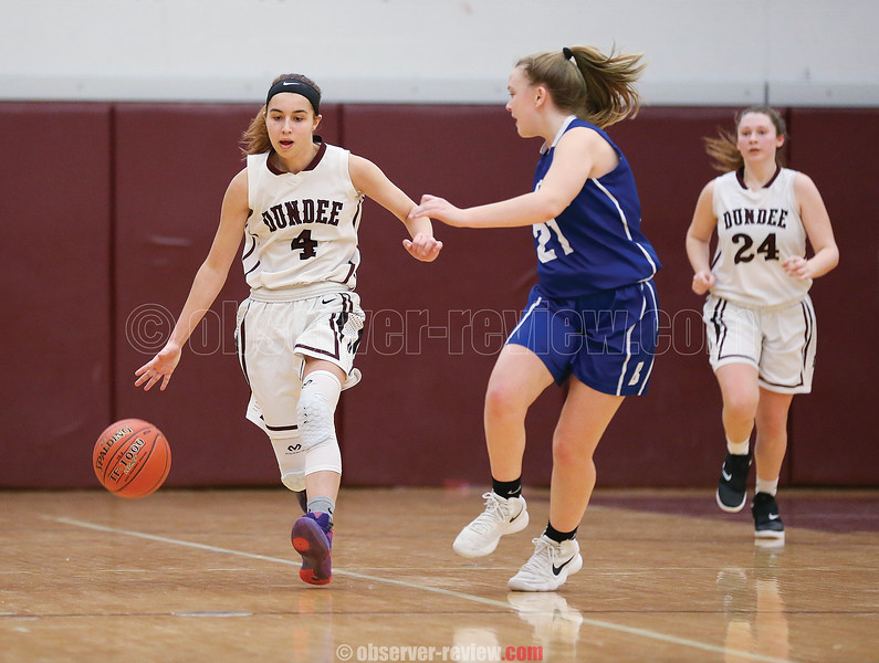 Mackenzie Strait scored 31 points in Dundee's win over Bloomfield.