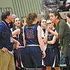 Head coach Alicia Learn instructs her players at Hudson Valley Community College. (Photo/Hans Pennink)