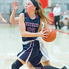 Danielle Leszyk drives to the basket in the sectional final game against Unatego, Saturday, March 2.