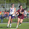 Sydney Hulse drives to the goal for Penn Yan, Tuesday, May 21.