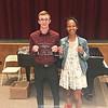 Andy Hartford and Nadia Simpson won the Charles Martin Sportsman Award. PROVIDED