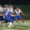 Mekhi Mahan runs the ball for Penn Yan last Friday.