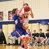 Mason Kuver goes up under the basket in the game last week.