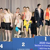 The 400 yard freestyle relay team took second for Odessa at the sectional championship last weekend.