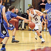 Kyle Cratsley drives to the basket against Honeoye, Friday, Jan. 20.