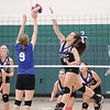 The Hammondsport varsity volleyball team lost to Charles G. Finney in the Section V Class D2 semifinals, Wednesday, Nov. 1. Shelby Sherman (pictured) had 15 kills. FILE PHOTO