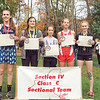 Kai Sutterby took fourth place in the girls cross country race last week. PHOTO PROVIDED