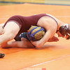 Damon Empson won with a pin in the 152 pound division in 55 seconds.