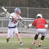 Austin Blumbergs rips a shot Thursday, April 6 against Palmyra-Macedon.
