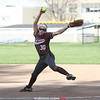Grace Vondracek threw a no-hitter for Odessa, Wednesday, April 26.