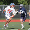 Will Rogers approaches the goal in the game against Mynderse, Wednesday, May 24.