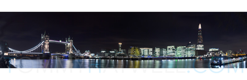 TOWER BRIDGE TO THE SHARD (40x13)