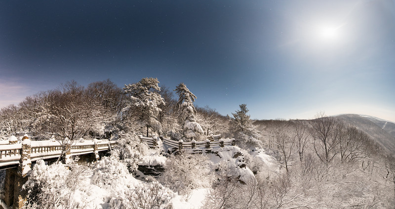 Coopers Rock_Winter_cross country skiing_Moonlight_West Virginia_photo by Gabe DeWitt_March 05, 2015-13-Edit