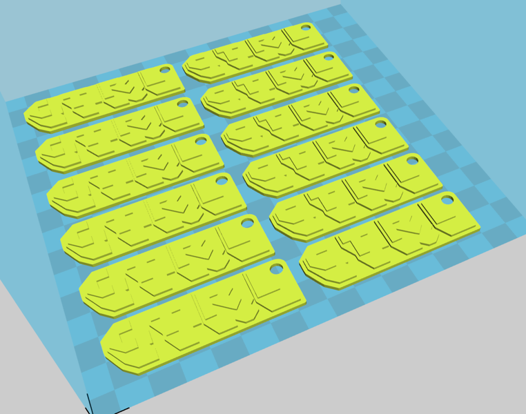 A slicing engine (Cura in this case) is used to compile the STL model into 3D Printer commands - a text format of instructions (move here, squirt plastic now, then move here), known as a GCODE file. The GCODE file is compiled towards a given set of printer / filament characteristics.