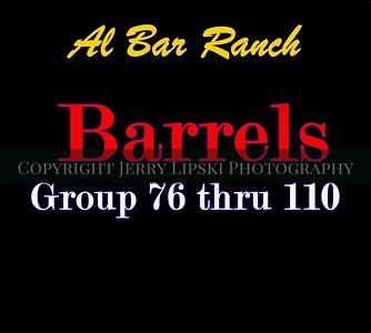 Barrels  76 thru 110