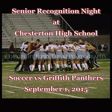 Senior Night - Girls Soccer