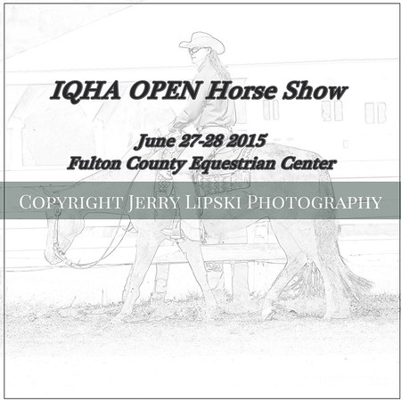 "Fulton County .. IQHA  ""Open""  Horse Show"