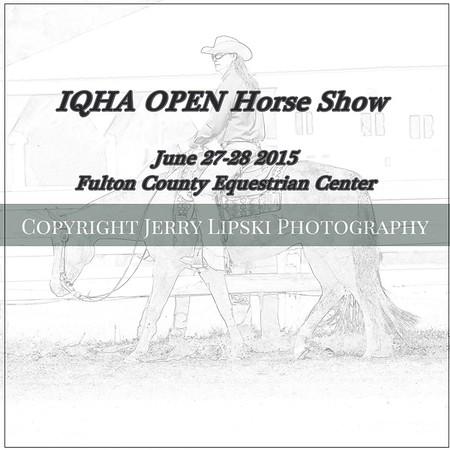 "Fulton County .. IQHA  ""Open""  Horse Show"