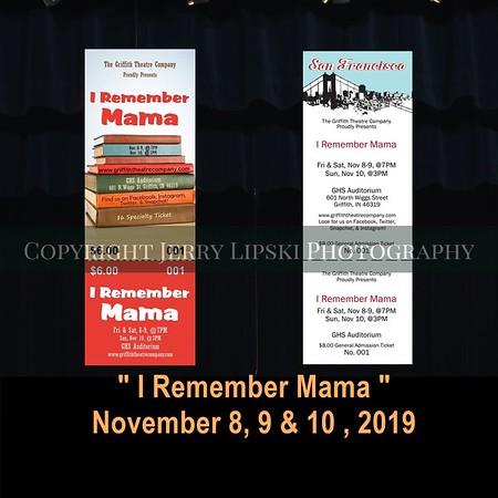 I Remember Mama - Nov 2019