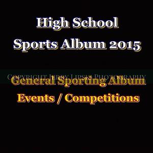 Various High School Sports 2015