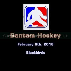 Bantam - Blackbirds Feb6, 2016