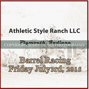 Barrel Racing - Friday  July 3 , 2015