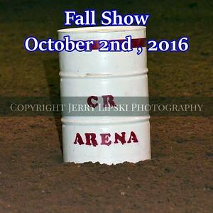 Fall Show   Oct 2nd 2016