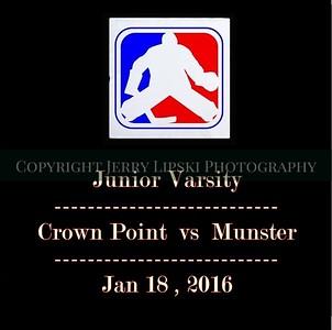 Jan 18 , 2016  JV Munster vs CP