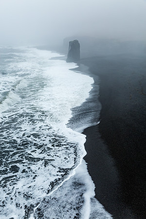 Lone Rock - Northern Iceland