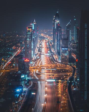 Dubai Cityscape Photography