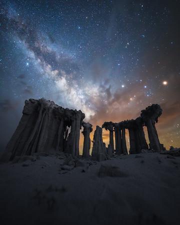 California Milky Way Astrophotography