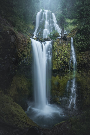 Washington Waterfall Landscape Photography