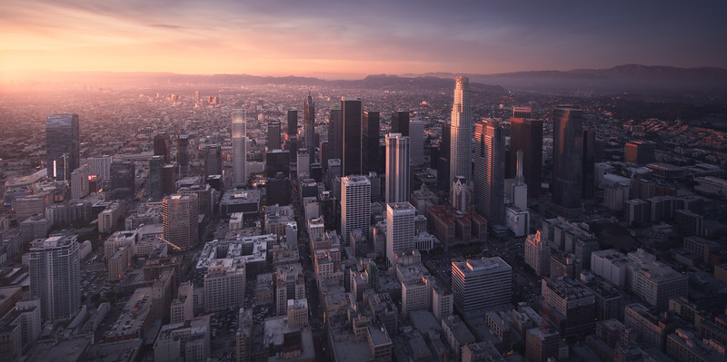 Los Angeles Cityscape Photography