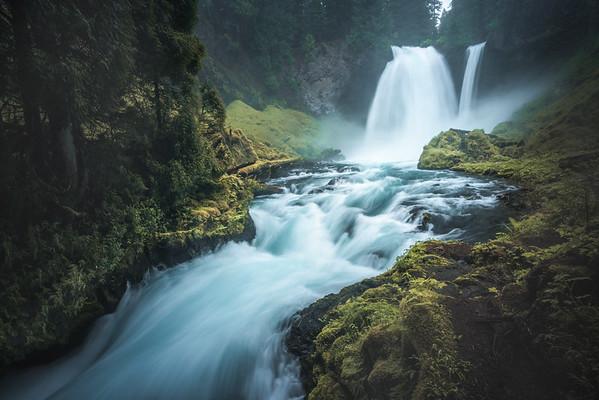 Oregon Waterfall Landscape Photography