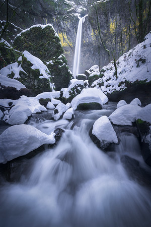 Oregon Waterfall Landscape Photography