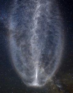 Atlas V AEHF Nebula