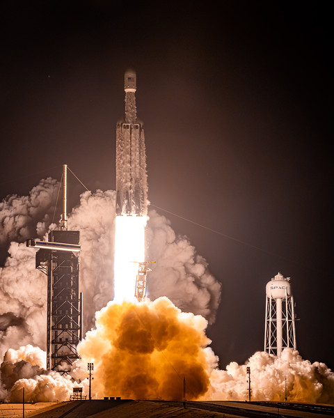 Falcon Heavy from Crawlerway