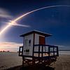 Solar Orbiter Streaking across Cocoa Beach