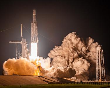 Falcon Heavy and the historic LC-39a pad.