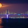 Sunshine Skyway Moonrise