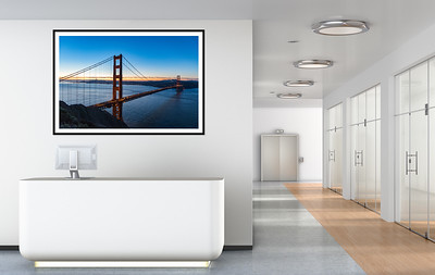 Framed Photography Prints for Office Decor