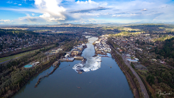 Willamette Falls, Oregon City, Oregon