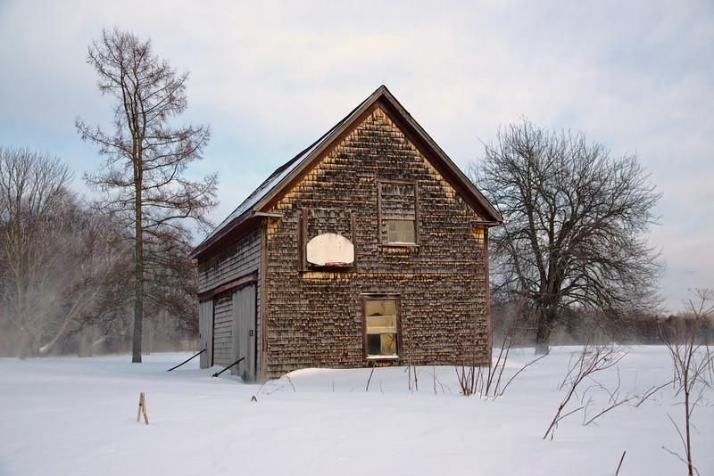Old Maine Barn.