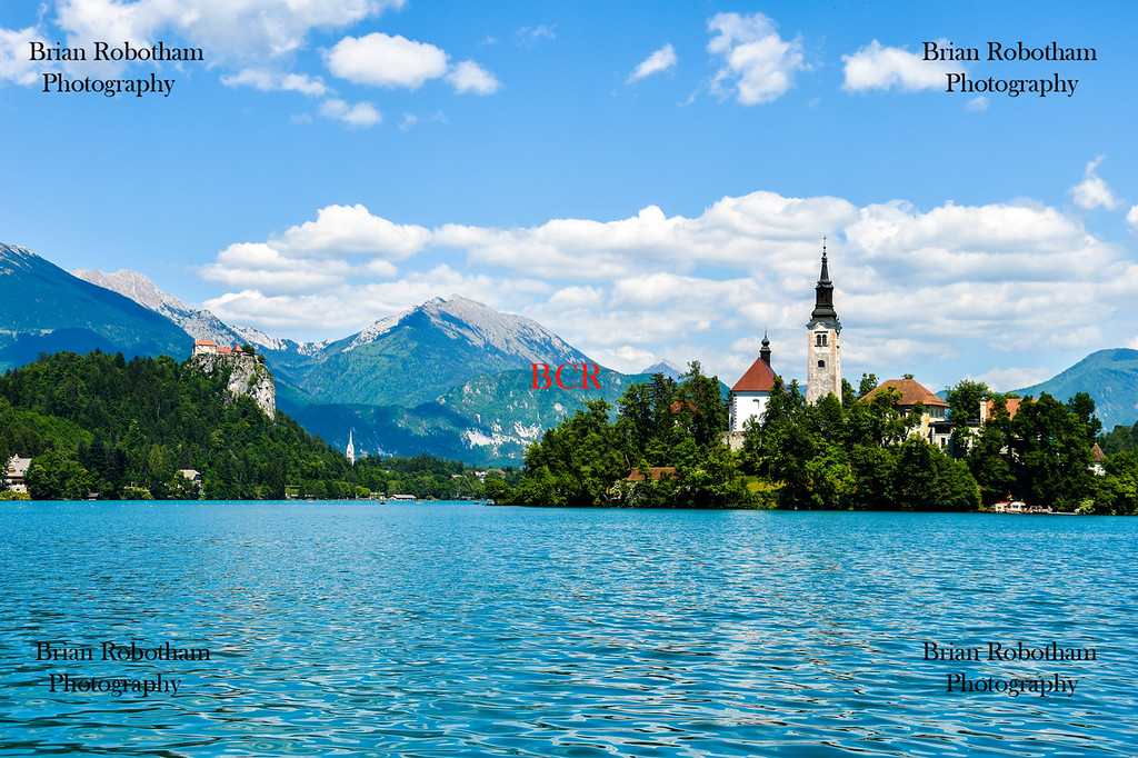 Bled Castle and Lake Bled