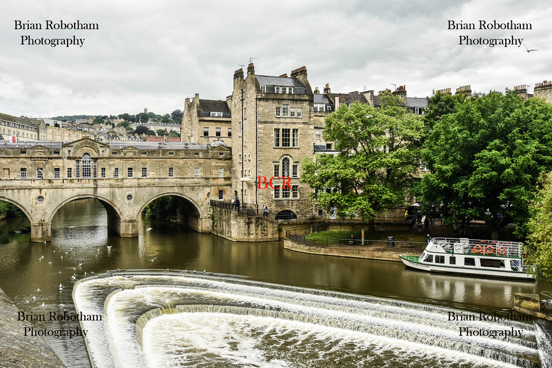 Pulteney Bridge, Bath, England