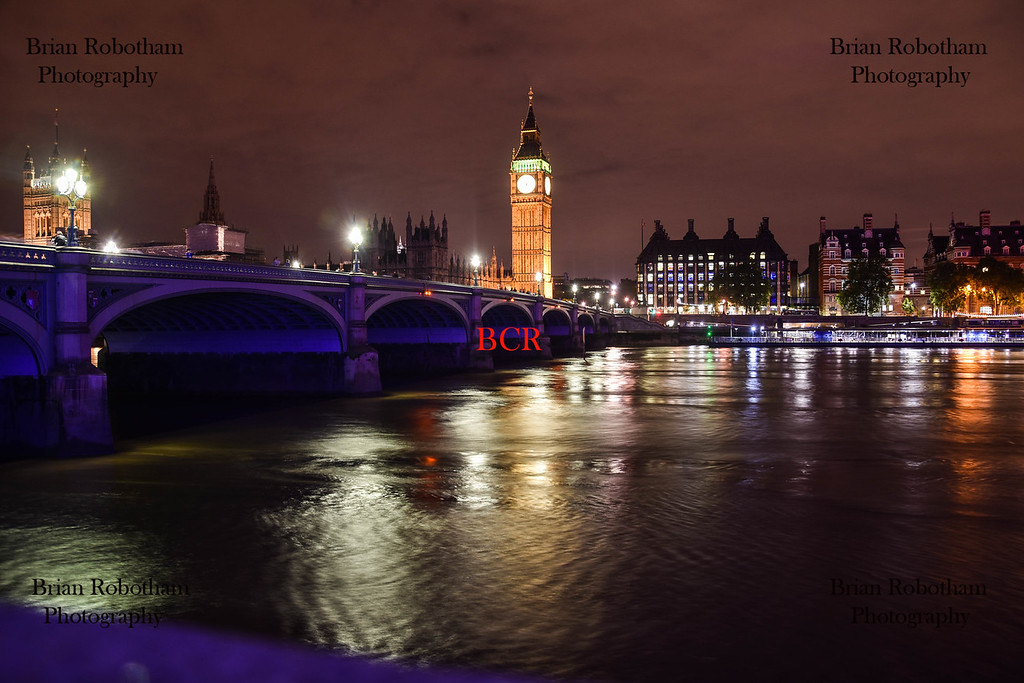 Westminster Bridge By Night