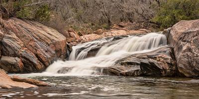 Valley Spring Creek Waterfall at Inks Lake State Park