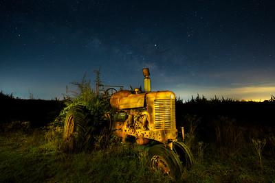 Farmall Under the Milky Way