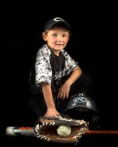 Travis Baseball Portrait